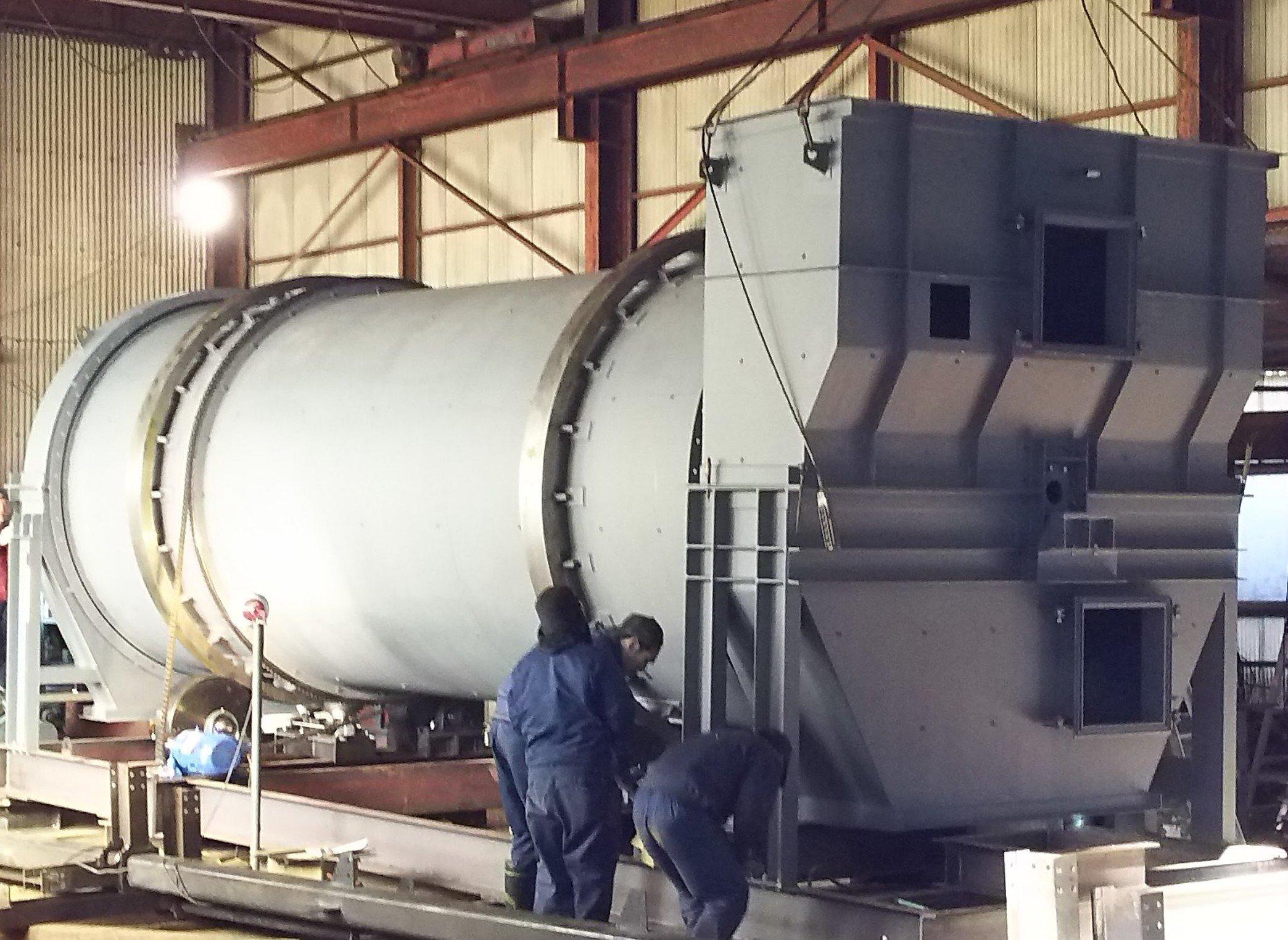 バイオマス発電、乾燥炉