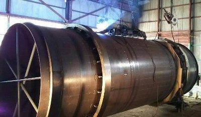 バイオマス発電、乾燥炉本体